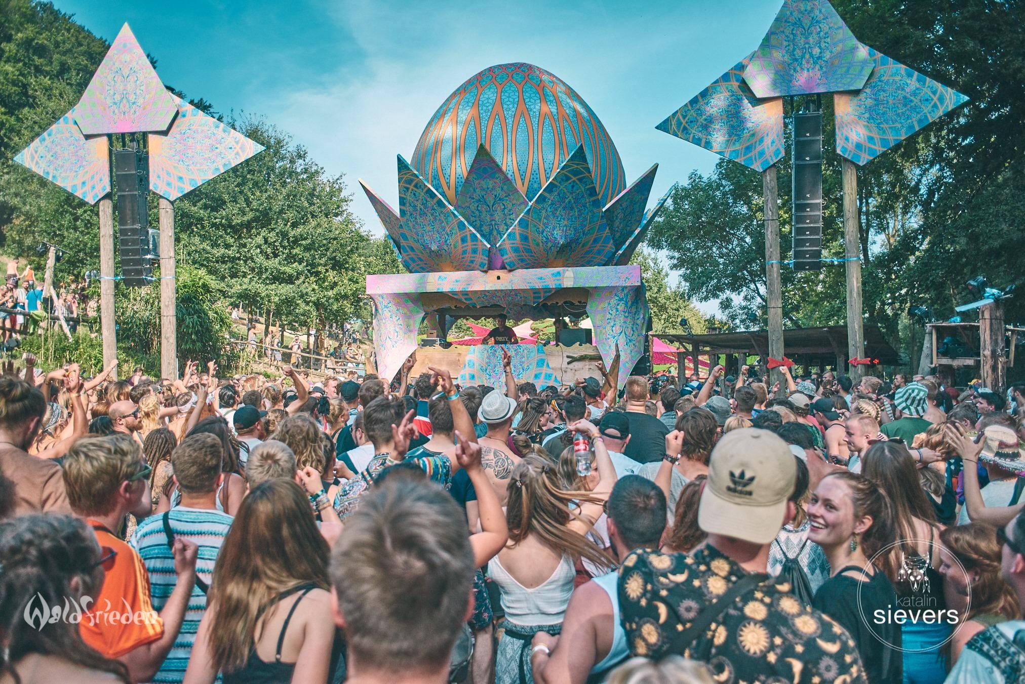 Waldfrieden Wonderland 2019 – Psytrance-Festival an einem Ort des Friedens